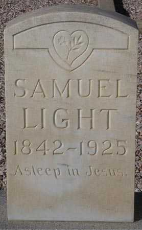 LIGHT, SAMUEL - Maricopa County, Arizona | SAMUEL LIGHT - Arizona Gravestone Photos