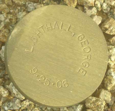 LIGHTHALL, GEORGE - Maricopa County, Arizona | GEORGE LIGHTHALL - Arizona Gravestone Photos