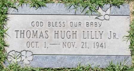 LILLY, THOMAS HUGH, JR. - Maricopa County, Arizona   THOMAS HUGH, JR. LILLY - Arizona Gravestone Photos