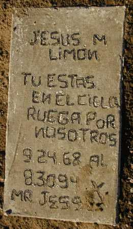 LIMON, JESUS M. - Maricopa County, Arizona | JESUS M. LIMON - Arizona Gravestone Photos
