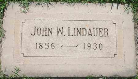 LINDAUER, JOHN W - Maricopa County, Arizona | JOHN W LINDAUER - Arizona Gravestone Photos