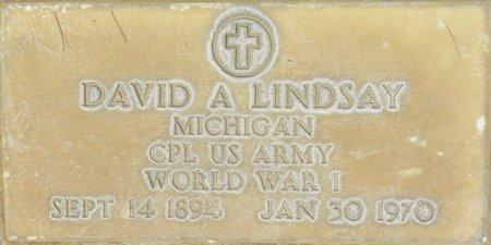 LINDSAY, DAVID A - Maricopa County, Arizona   DAVID A LINDSAY - Arizona Gravestone Photos