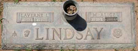 LINDSAY, LAVERNE L. - Maricopa County, Arizona | LAVERNE L. LINDSAY - Arizona Gravestone Photos