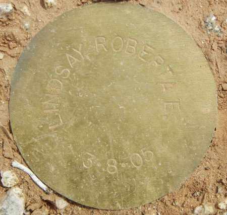 LINDSAY, ROBERTA E. - Maricopa County, Arizona | ROBERTA E. LINDSAY - Arizona Gravestone Photos