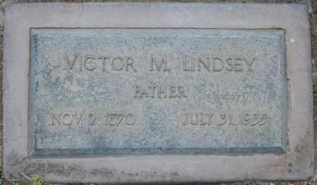 LINDSEY, VICTOR M - Maricopa County, Arizona | VICTOR M LINDSEY - Arizona Gravestone Photos