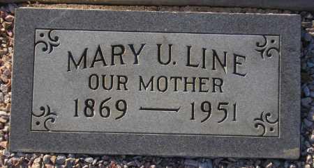 POTTS LINE, MARY VIRGINIA - Maricopa County, Arizona   MARY VIRGINIA POTTS LINE - Arizona Gravestone Photos