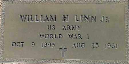 LINN, WILLIAM H - Maricopa County, Arizona | WILLIAM H LINN - Arizona Gravestone Photos