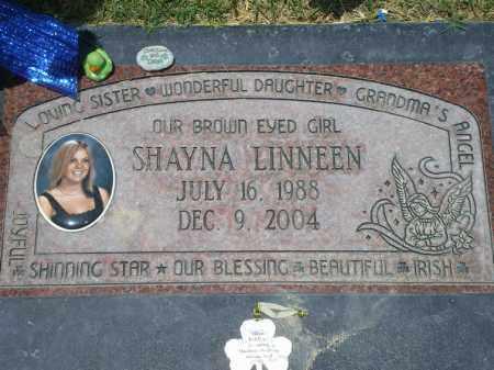 LINNEEN, SHAYNA - Maricopa County, Arizona | SHAYNA LINNEEN - Arizona Gravestone Photos
