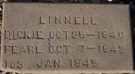 LINNELL, DICKIE - Maricopa County, Arizona | DICKIE LINNELL - Arizona Gravestone Photos