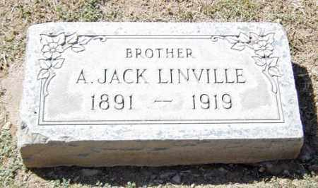LINVILLE, ANDREW JACKSON - Maricopa County, Arizona   ANDREW JACKSON LINVILLE - Arizona Gravestone Photos