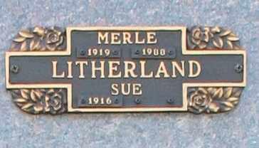 LITHERLAND, MERLE - Maricopa County, Arizona | MERLE LITHERLAND - Arizona Gravestone Photos
