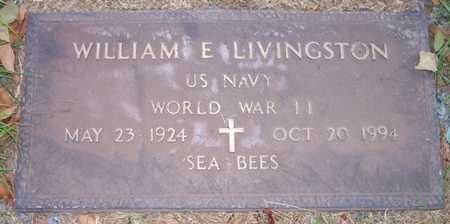LIVINGSTON, WILLIAM E. - Maricopa County, Arizona | WILLIAM E. LIVINGSTON - Arizona Gravestone Photos