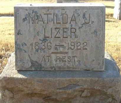 MCCLAIN LIZER, MATILDA JANE - Maricopa County, Arizona | MATILDA JANE MCCLAIN LIZER - Arizona Gravestone Photos