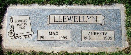 LLEWELLYN, MAX - Maricopa County, Arizona | MAX LLEWELLYN - Arizona Gravestone Photos