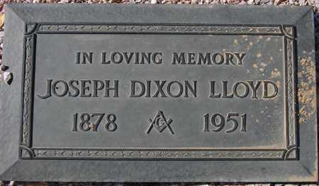 LLOYD, JOSEPH DIXON - Maricopa County, Arizona | JOSEPH DIXON LLOYD - Arizona Gravestone Photos