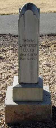 LLOYD, THOMAS LAWRENCE - Maricopa County, Arizona   THOMAS LAWRENCE LLOYD - Arizona Gravestone Photos