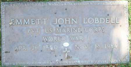 LOBDELL, EMMETT JOHN - Maricopa County, Arizona | EMMETT JOHN LOBDELL - Arizona Gravestone Photos