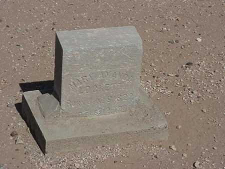 LOCKETT, MARY AMANDA - Maricopa County, Arizona | MARY AMANDA LOCKETT - Arizona Gravestone Photos