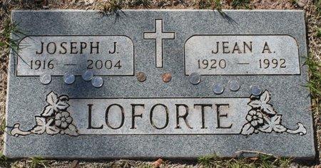 LOFORTE, JEAN A - Maricopa County, Arizona   JEAN A LOFORTE - Arizona Gravestone Photos