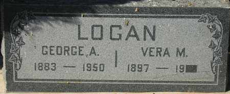 LOGAN, GEORGE A. - Maricopa County, Arizona | GEORGE A. LOGAN - Arizona Gravestone Photos
