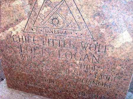 LOGAN, LOUIS AKA CHIEF LITTLE WOLF - Maricopa County, Arizona   LOUIS AKA CHIEF LITTLE WOLF LOGAN - Arizona Gravestone Photos