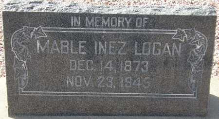 LOGAN, MABLE INEZ - Maricopa County, Arizona | MABLE INEZ LOGAN - Arizona Gravestone Photos
