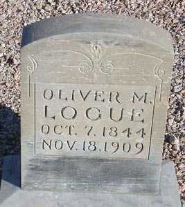 LOGUE, OLIVER M. - Maricopa County, Arizona | OLIVER M. LOGUE - Arizona Gravestone Photos