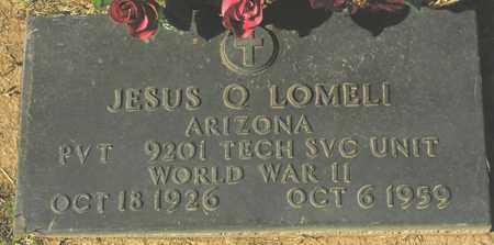 LOMELI, JESUS Q. - Maricopa County, Arizona   JESUS Q. LOMELI - Arizona Gravestone Photos