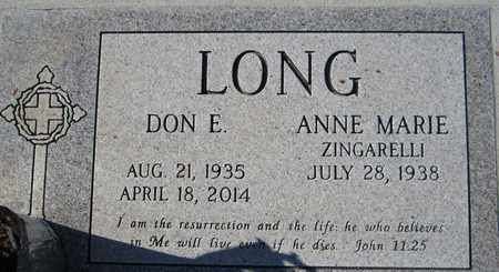 LONG, ANNE MARIE - Maricopa County, Arizona | ANNE MARIE LONG - Arizona Gravestone Photos