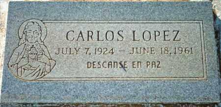 LOPEZ, CARLOS - Maricopa County, Arizona | CARLOS LOPEZ - Arizona Gravestone Photos