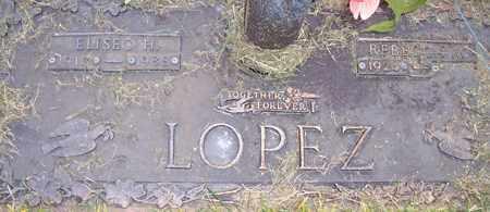 LOPEZ, ELISEO H. - Maricopa County, Arizona | ELISEO H. LOPEZ - Arizona Gravestone Photos