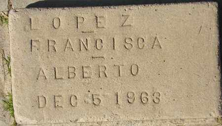 LOPEZ, FRANCISCA - Maricopa County, Arizona | FRANCISCA LOPEZ - Arizona Gravestone Photos