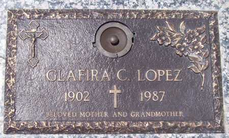 LOPEZ, GLAFIRA C. - Maricopa County, Arizona | GLAFIRA C. LOPEZ - Arizona Gravestone Photos