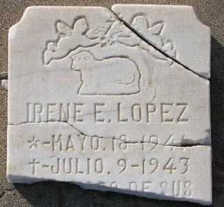 LOPEZ, IRENE E. - Maricopa County, Arizona | IRENE E. LOPEZ - Arizona Gravestone Photos