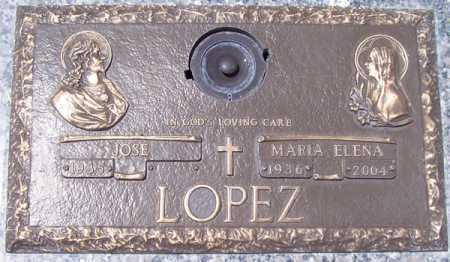 LOPEZ, MARIA ELENA - Maricopa County, Arizona | MARIA ELENA LOPEZ - Arizona Gravestone Photos