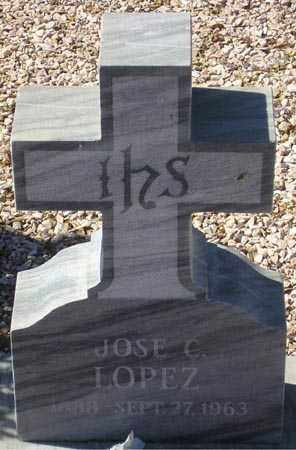 LOPEZ, JOSE C. - Maricopa County, Arizona | JOSE C. LOPEZ - Arizona Gravestone Photos