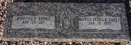 LOPEZ, MARTA JESUS E. - Maricopa County, Arizona   MARTA JESUS E. LOPEZ - Arizona Gravestone Photos