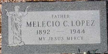 LOPEZ, MELECIO C. - Maricopa County, Arizona | MELECIO C. LOPEZ - Arizona Gravestone Photos