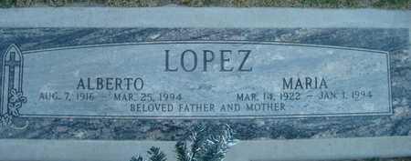 LOPEZ, MARIA - Maricopa County, Arizona | MARIA LOPEZ - Arizona Gravestone Photos