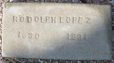 LOPEZ, RODOLPH - Maricopa County, Arizona | RODOLPH LOPEZ - Arizona Gravestone Photos