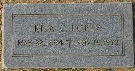 LOPEZ, RITA C. - Maricopa County, Arizona | RITA C. LOPEZ - Arizona Gravestone Photos