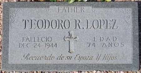 LOPEZ, TEODORO R. - Maricopa County, Arizona | TEODORO R. LOPEZ - Arizona Gravestone Photos