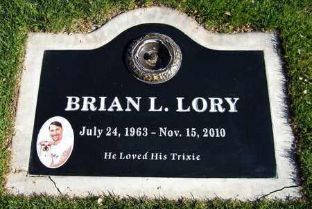 LORY, BRIAN L. - Maricopa County, Arizona | BRIAN L. LORY - Arizona Gravestone Photos