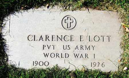LOTT, CLARENCE E. - Maricopa County, Arizona | CLARENCE E. LOTT - Arizona Gravestone Photos