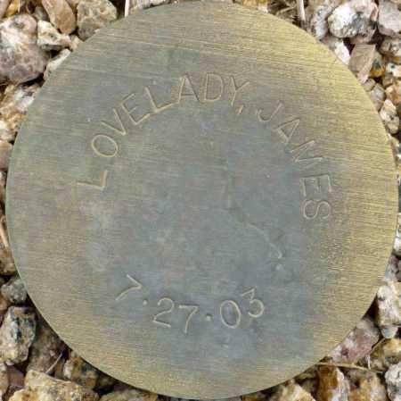 LOVELADY, JAMES - Maricopa County, Arizona | JAMES LOVELADY - Arizona Gravestone Photos
