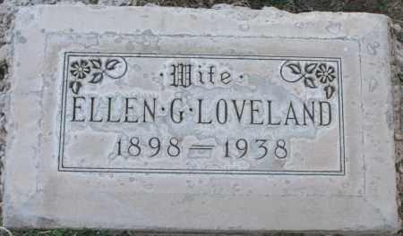 COGGER LOVELAND, ELLEN GERTRUDE - Maricopa County, Arizona   ELLEN GERTRUDE COGGER LOVELAND - Arizona Gravestone Photos