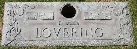 LOVERING, LESLIE - Maricopa County, Arizona | LESLIE LOVERING - Arizona Gravestone Photos
