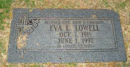 LOWELL, EVA L. - Maricopa County, Arizona | EVA L. LOWELL - Arizona Gravestone Photos