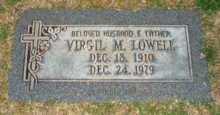 LOWELL, VIRGIL M. - Maricopa County, Arizona | VIRGIL M. LOWELL - Arizona Gravestone Photos