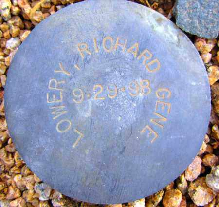 LOWERY, RICHARD GENE - Maricopa County, Arizona   RICHARD GENE LOWERY - Arizona Gravestone Photos